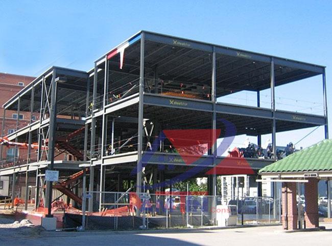 Xây dựng nhà tiền chế Quận 3 - 2
