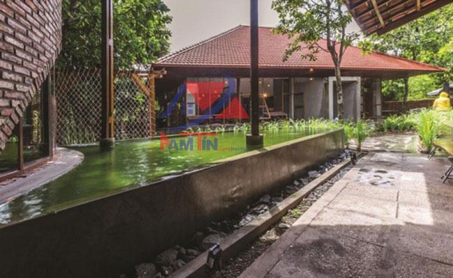 trang trí quán cà phê sân vườn 28
