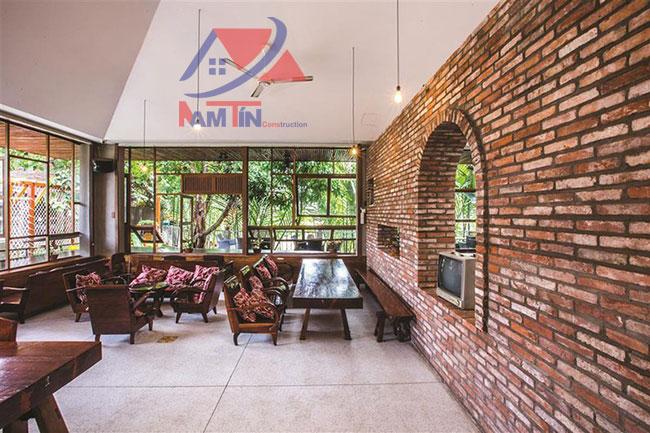 trang trí quán cà phê sân vườn 32
