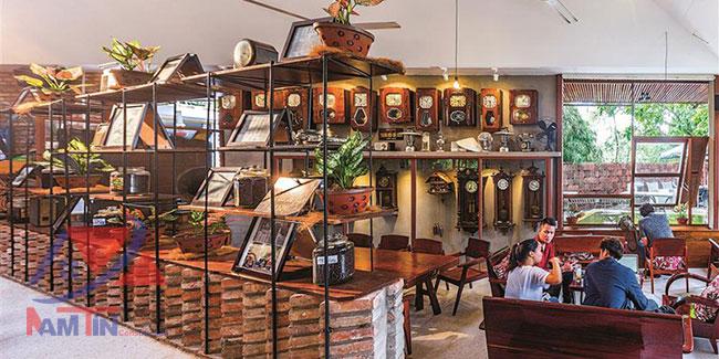 trang trí quán cà phê sân vườn 36